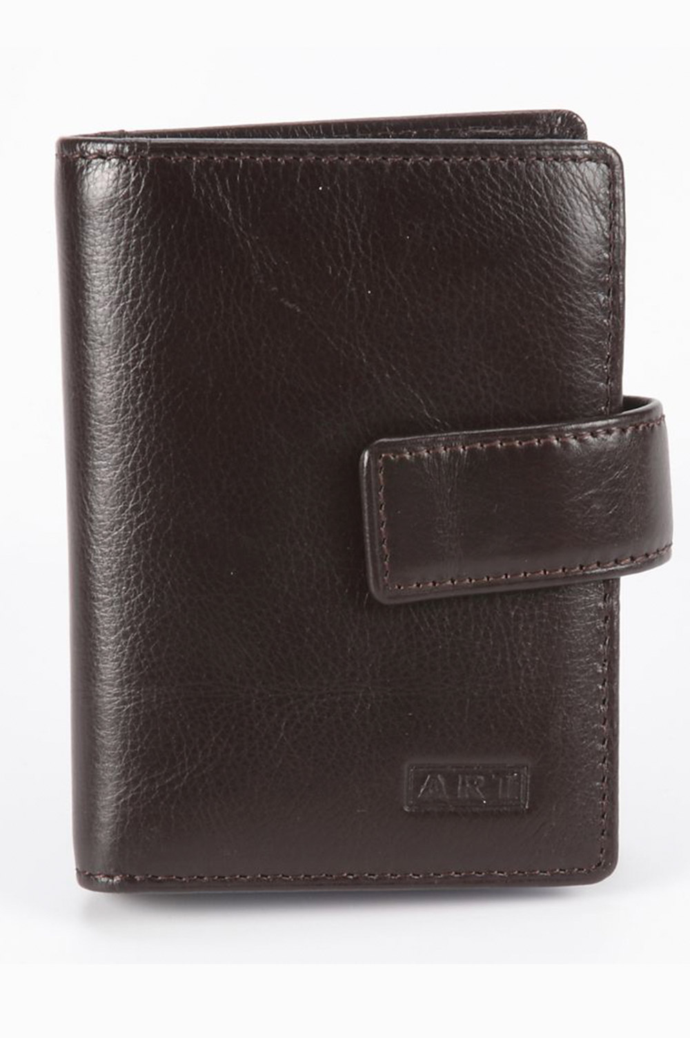 Art Designer Brown Leather Wallet - 418364