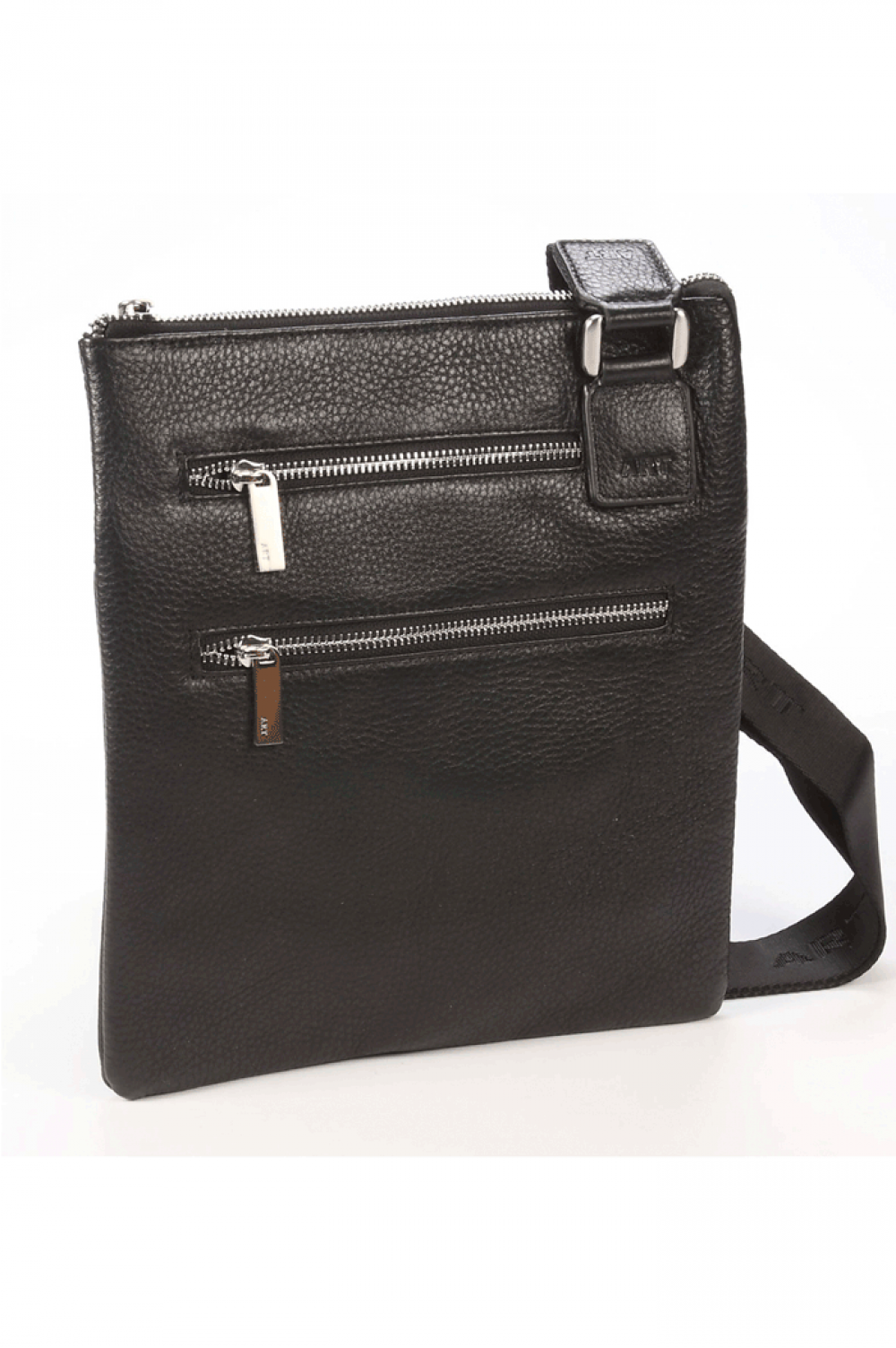 Sport vertical bag from natural leather - 441491