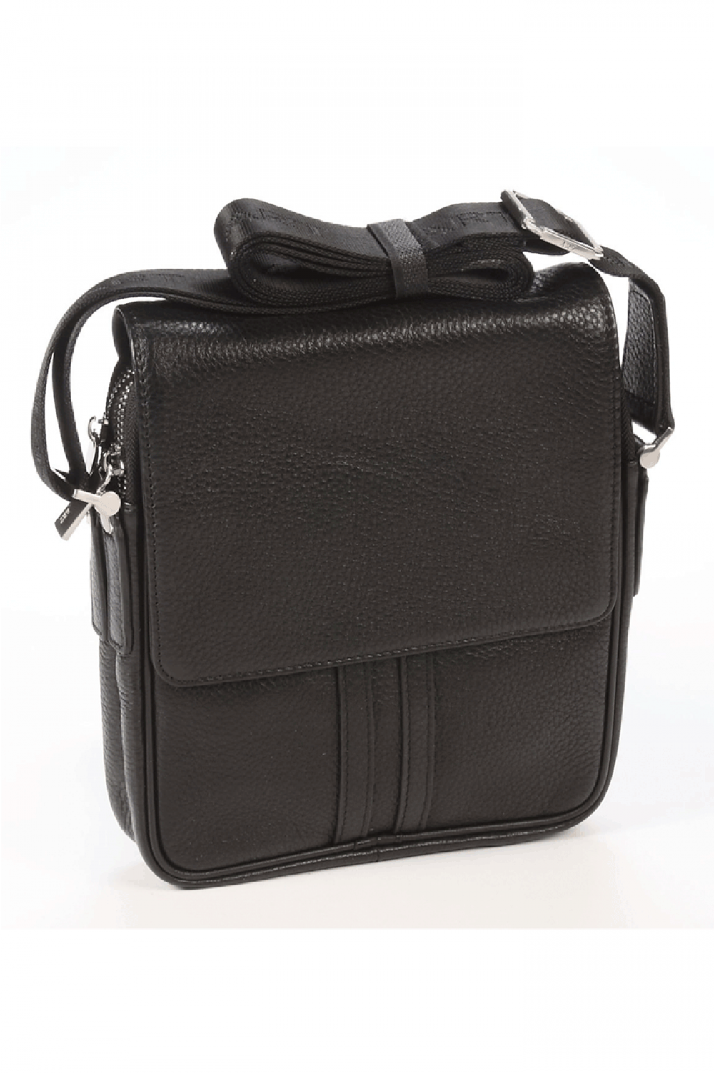 Sport vertical bag from natural leather - 441534