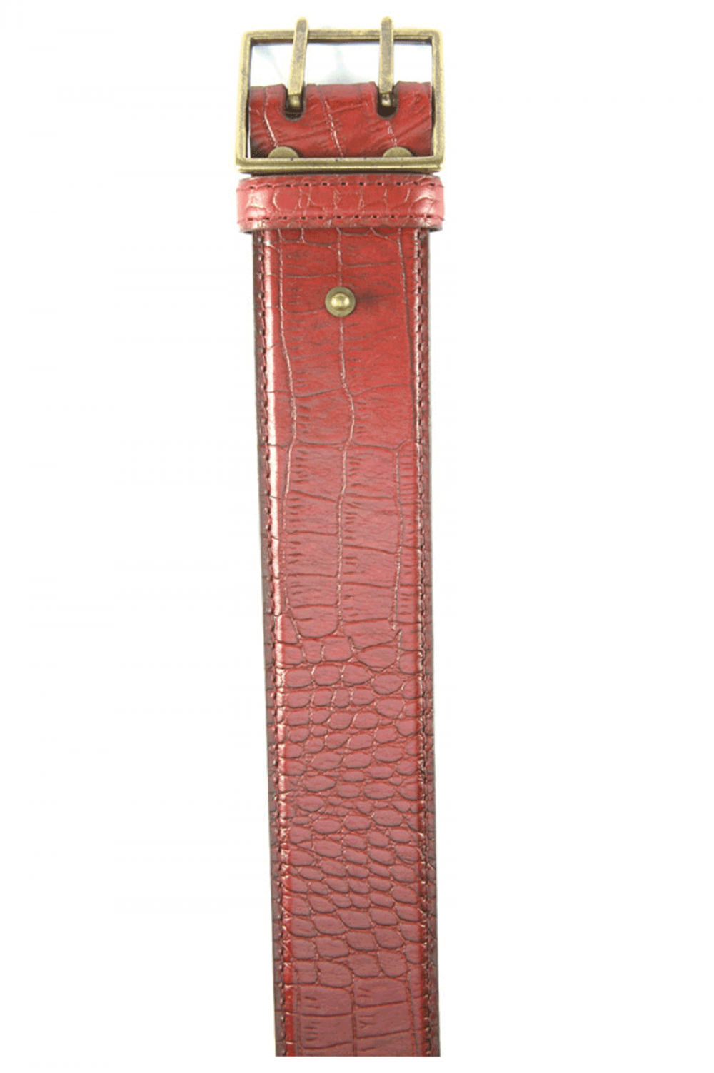Women Bordeaux leather belt shegren - 514072