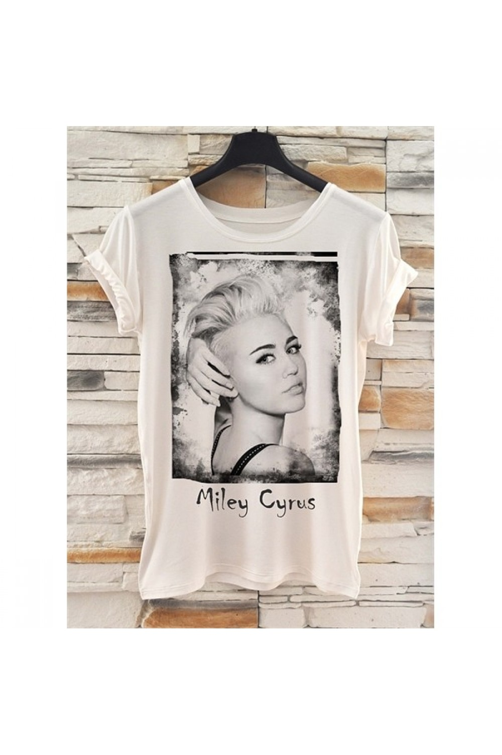 T-shirt Miley
