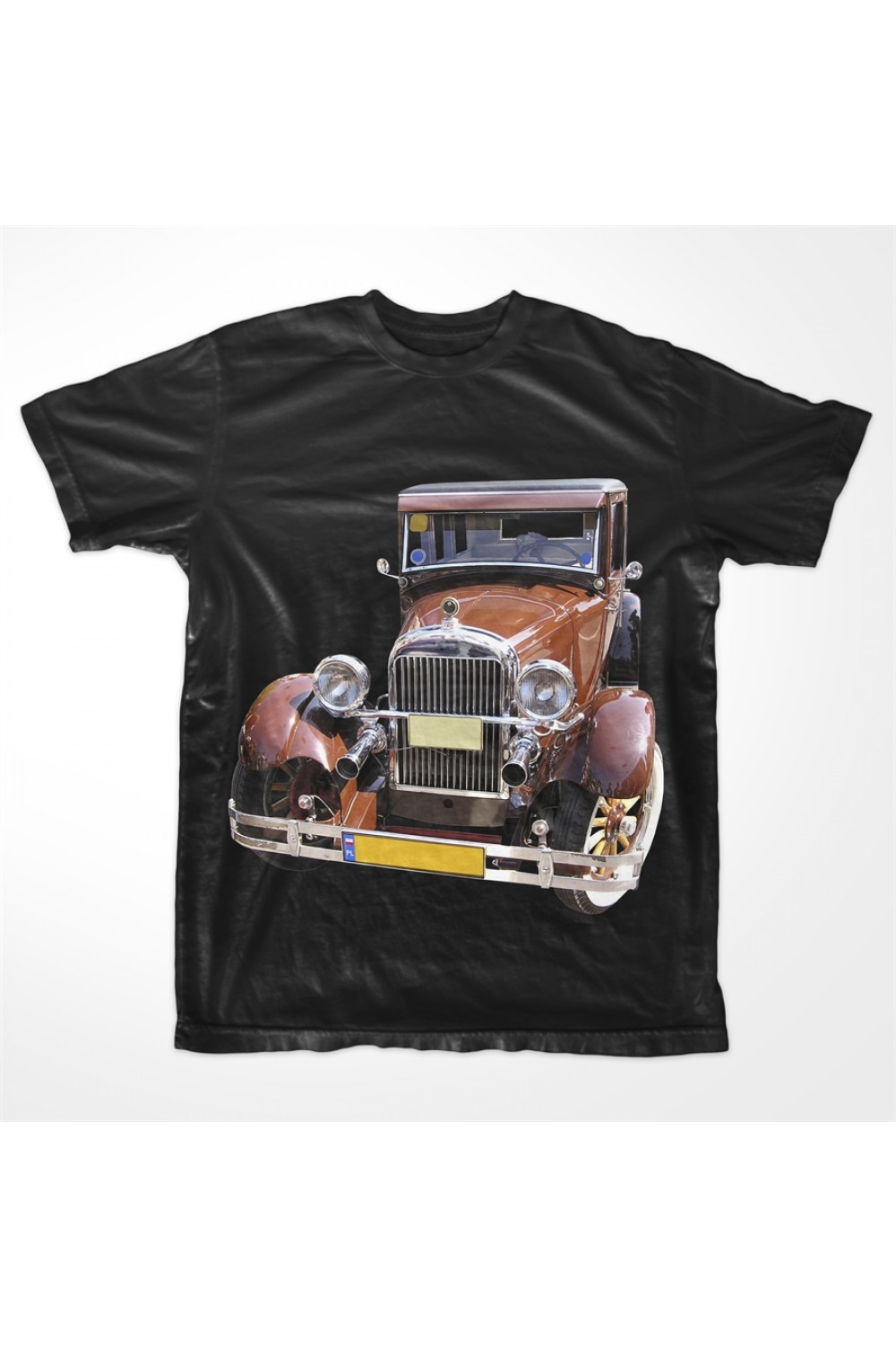KABOX Men Printed T shirt Car
