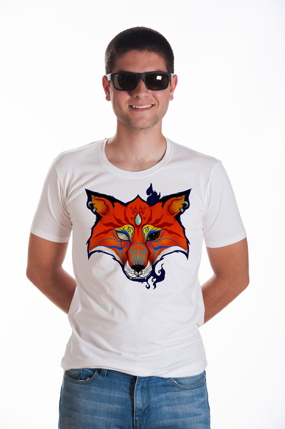 Fox Head T shirt | Mythic Tee | Fox Tshirt | Unisex Fox head Shirt
