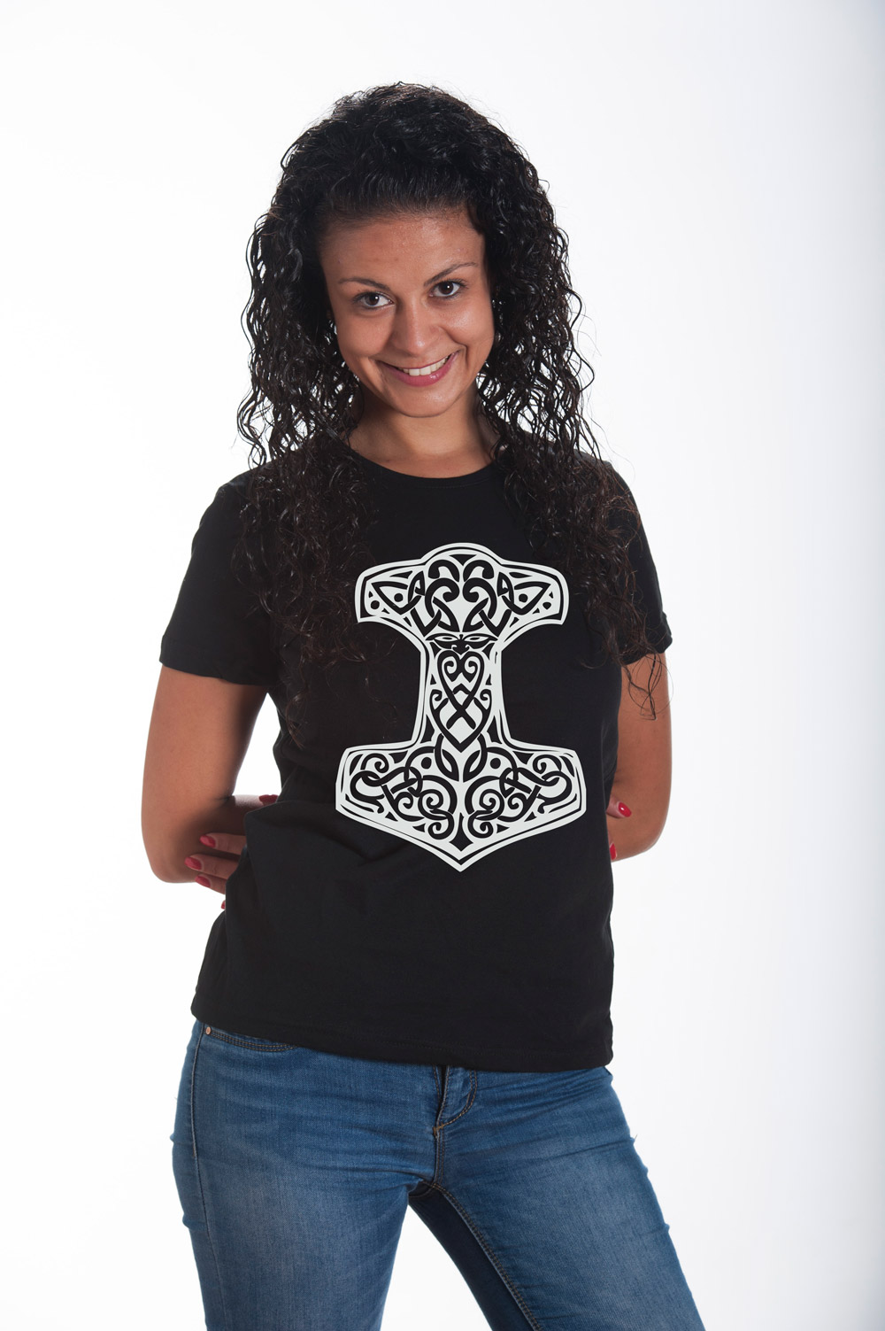 Hammer of Thor 1 T shirt | Norse Mythology Tee | Runes Tshirt | Norse Shirt