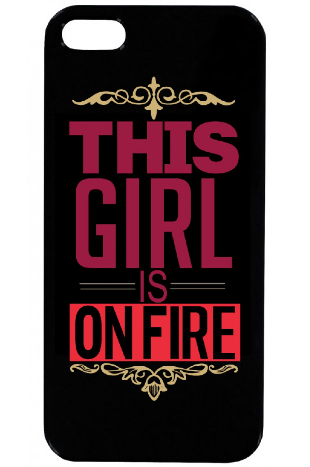 Phone Case - Girl on fire