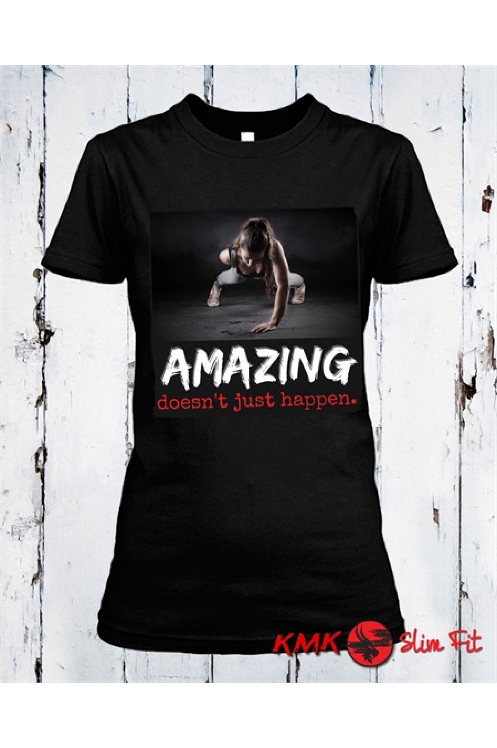 Amazing Printed T shirt | Sport lady Tee | Fitness T-shirt