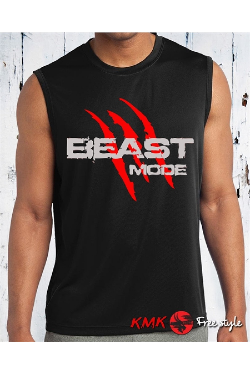 Beast Mode 2 Printed T shirt | Fitness Tanktop | Beast Tee | Long and Short Shirt