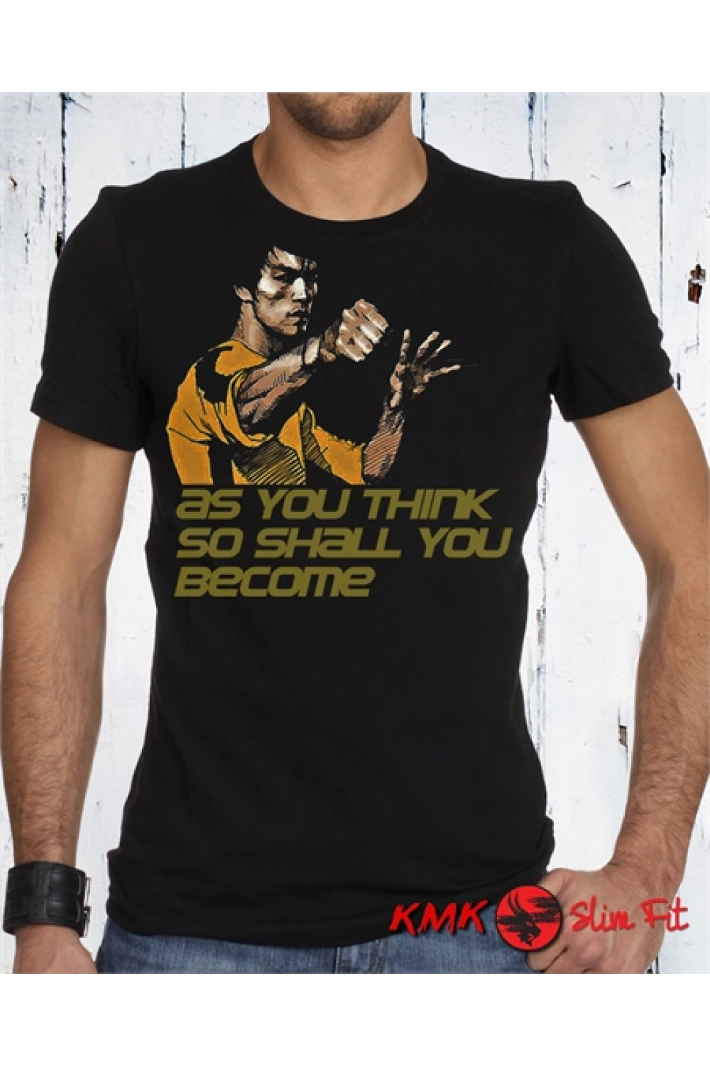 BRUCE LEE - As you think Printed T shirt | Bruce Lee Tanktop | Bruce Lee Tee | Motivation Shirt