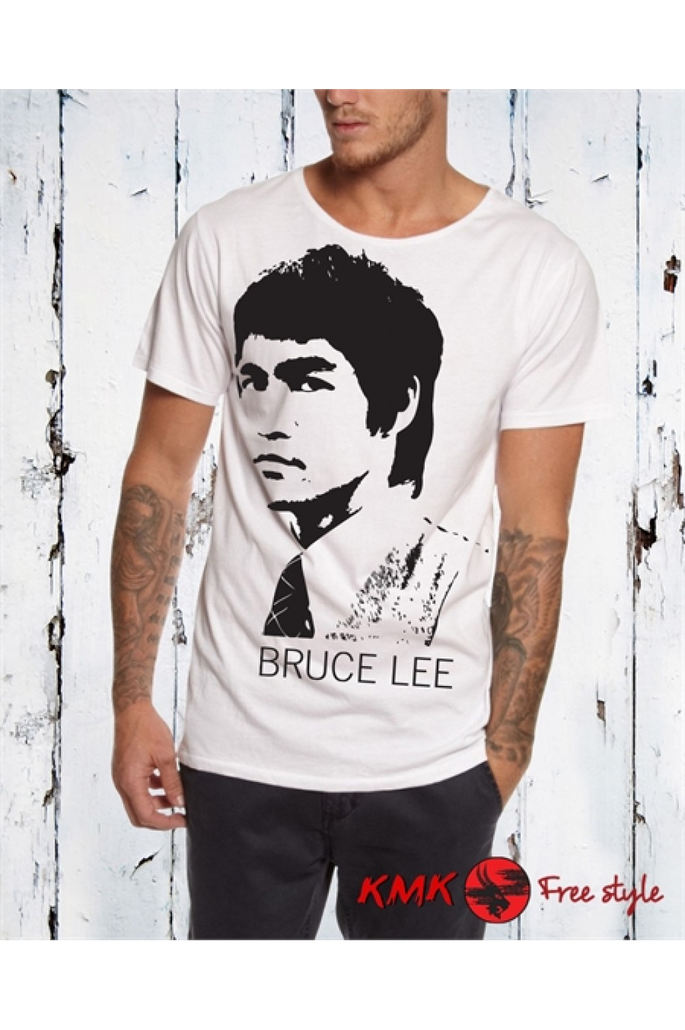 BRUCE LEE 2 Printed T shirt | Bruce Lee Tanktop | Bruce Lee Tee | Motivation Shirt