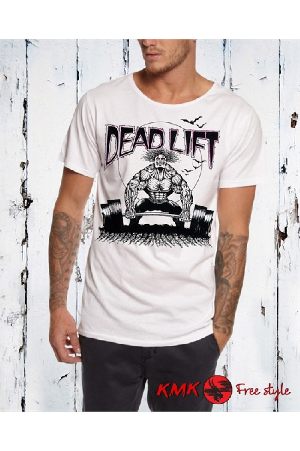 DEAD LIFT 2 Printed T shirt | Training Tanktop | Fitness Tee | Beast Mode Shirt