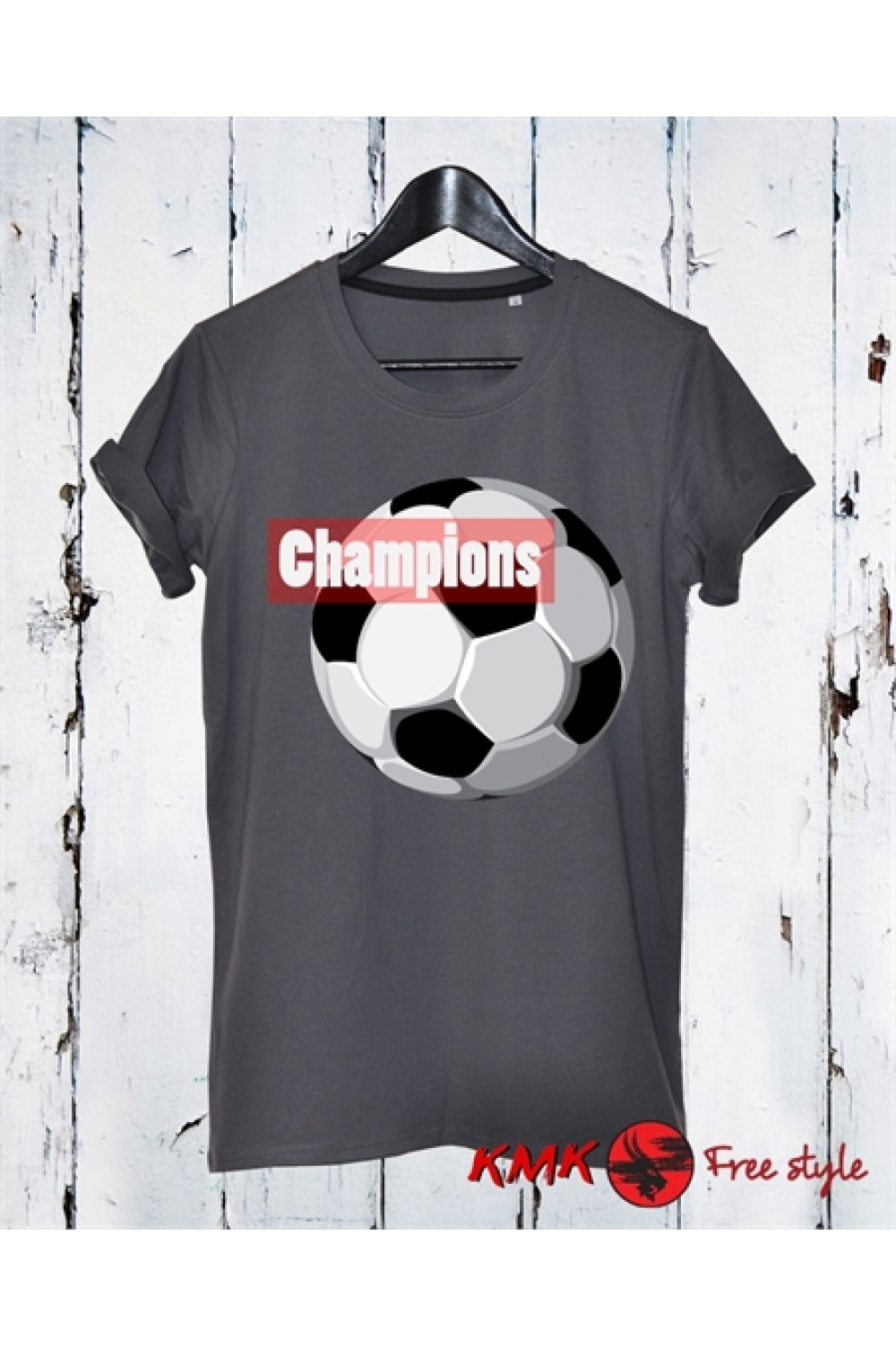 Football Champion Printed T shirt | Football T-shirt | Sports Tee