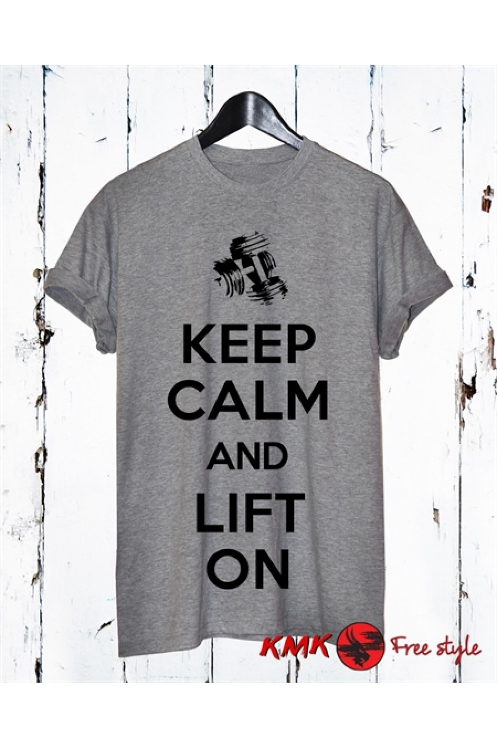 Keep Calm Printed T Shirt Lift On Tee