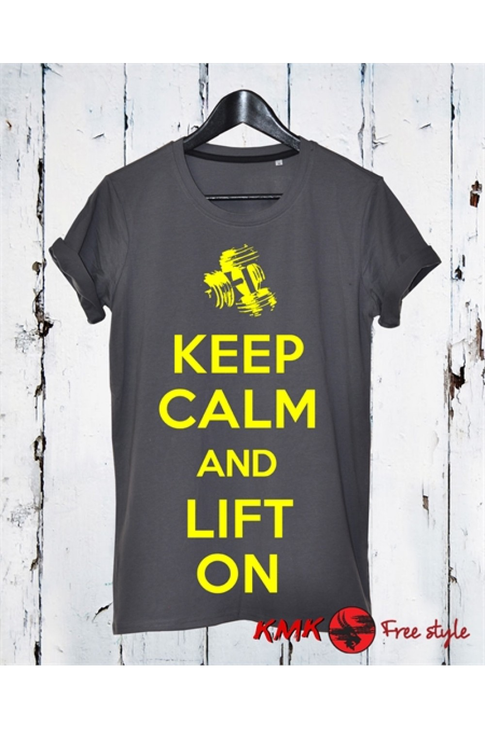 Keep calm Printed T shirt | Lift on Tee | Gym T-shirt | Sports Tee