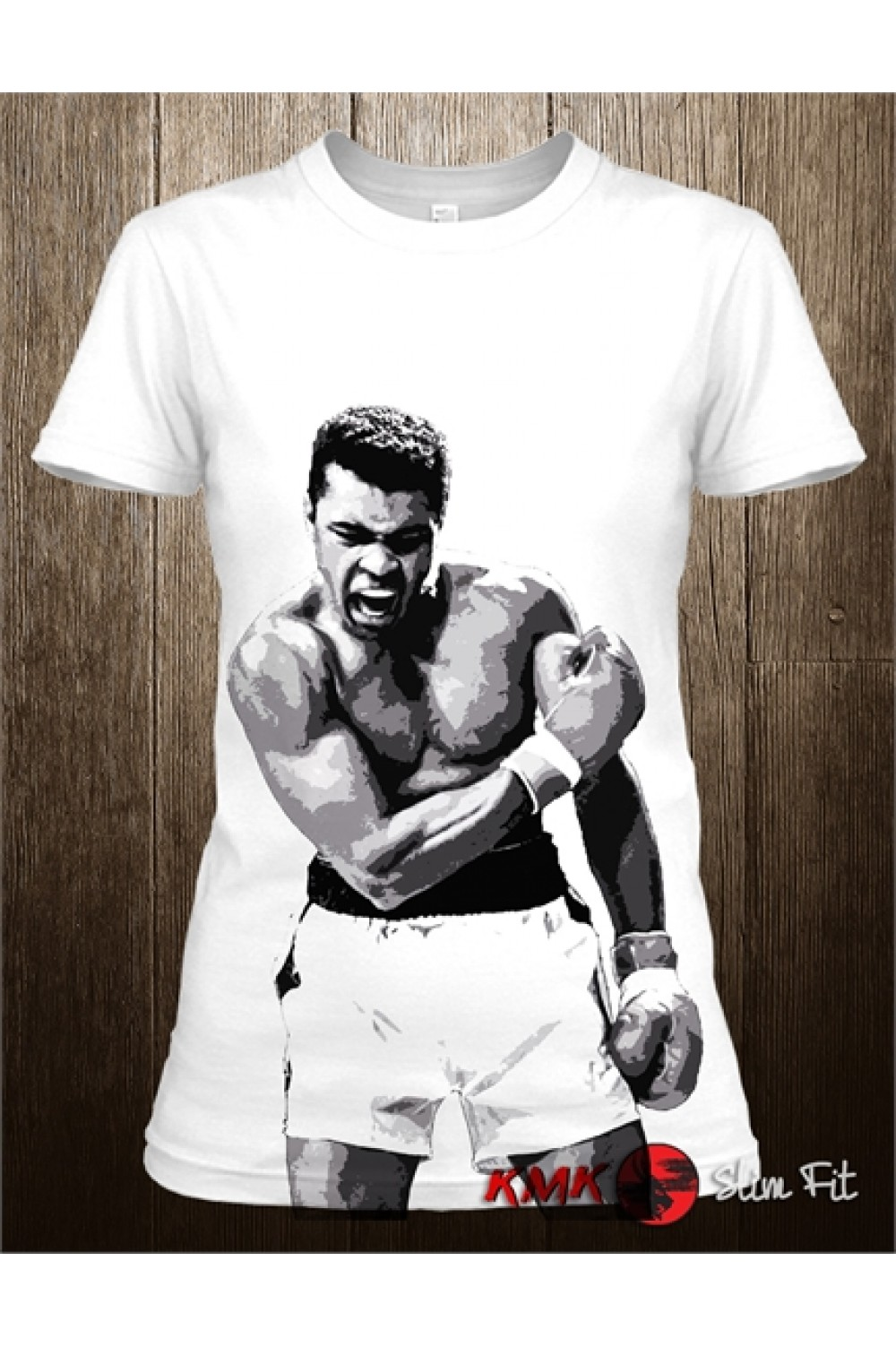 Ali Printed Sport And T Muhammad Long ShirtBoxing Tee drsxtQChB