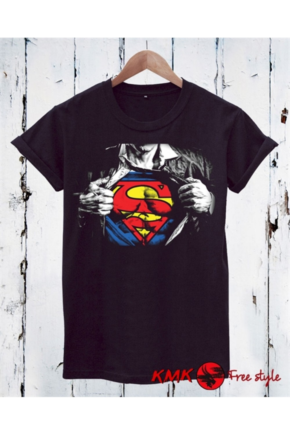 SUPERMAN Printed T shirt | Sport Tanktop | Fitness Tee | Motivation Shirt
