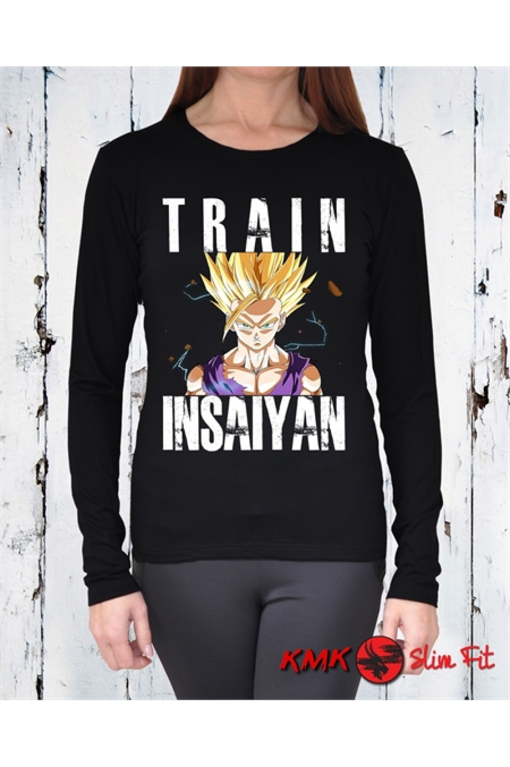 Train Insaiyan 1 Printed T shirt | Sport Tanktop | Fitness Tee | Long and Short Shirt
