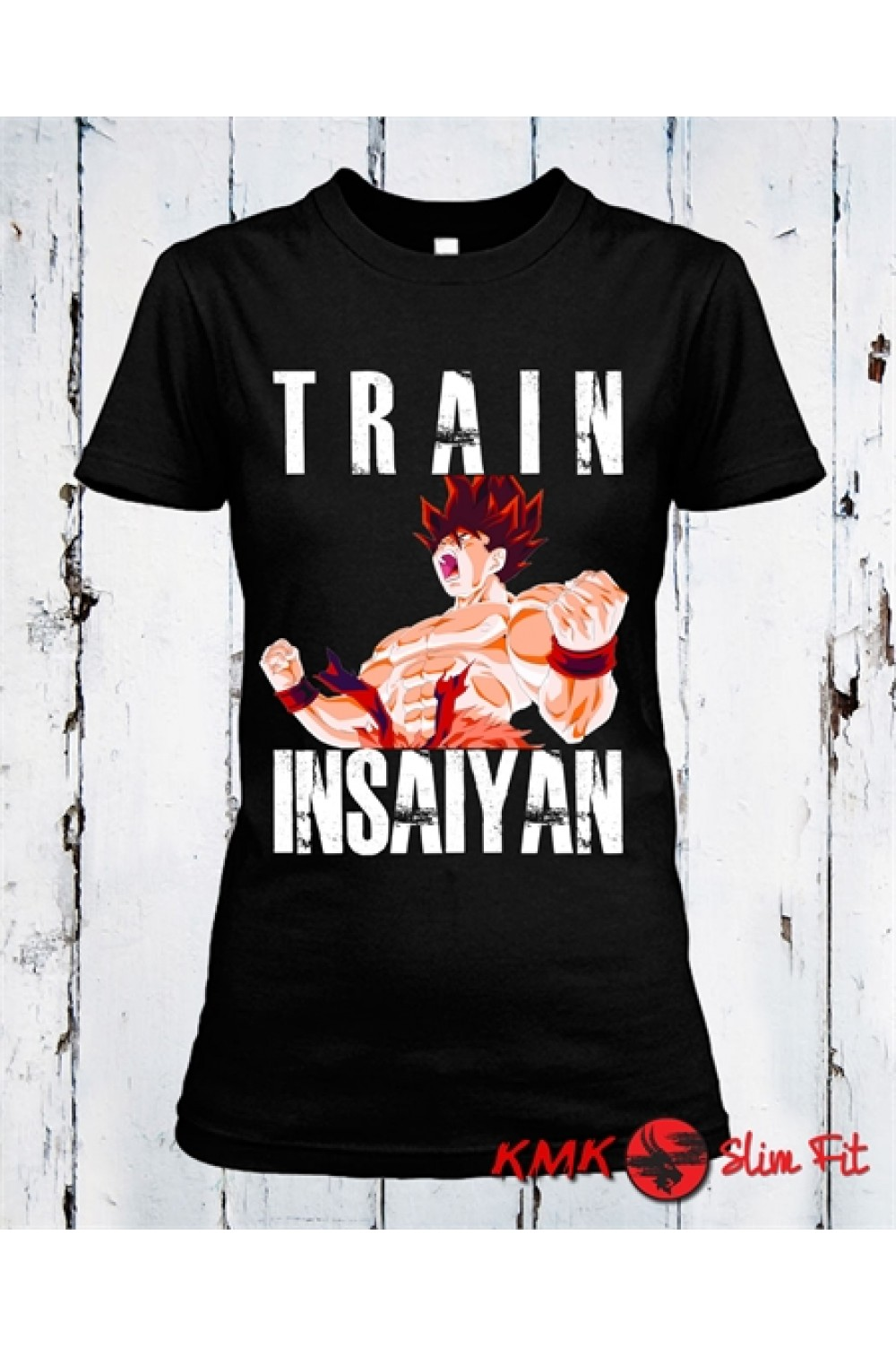 Train Insaiyan 2 Printed T shirt | Sport Tanktop | Fitness Tee | Long and Short Shirt