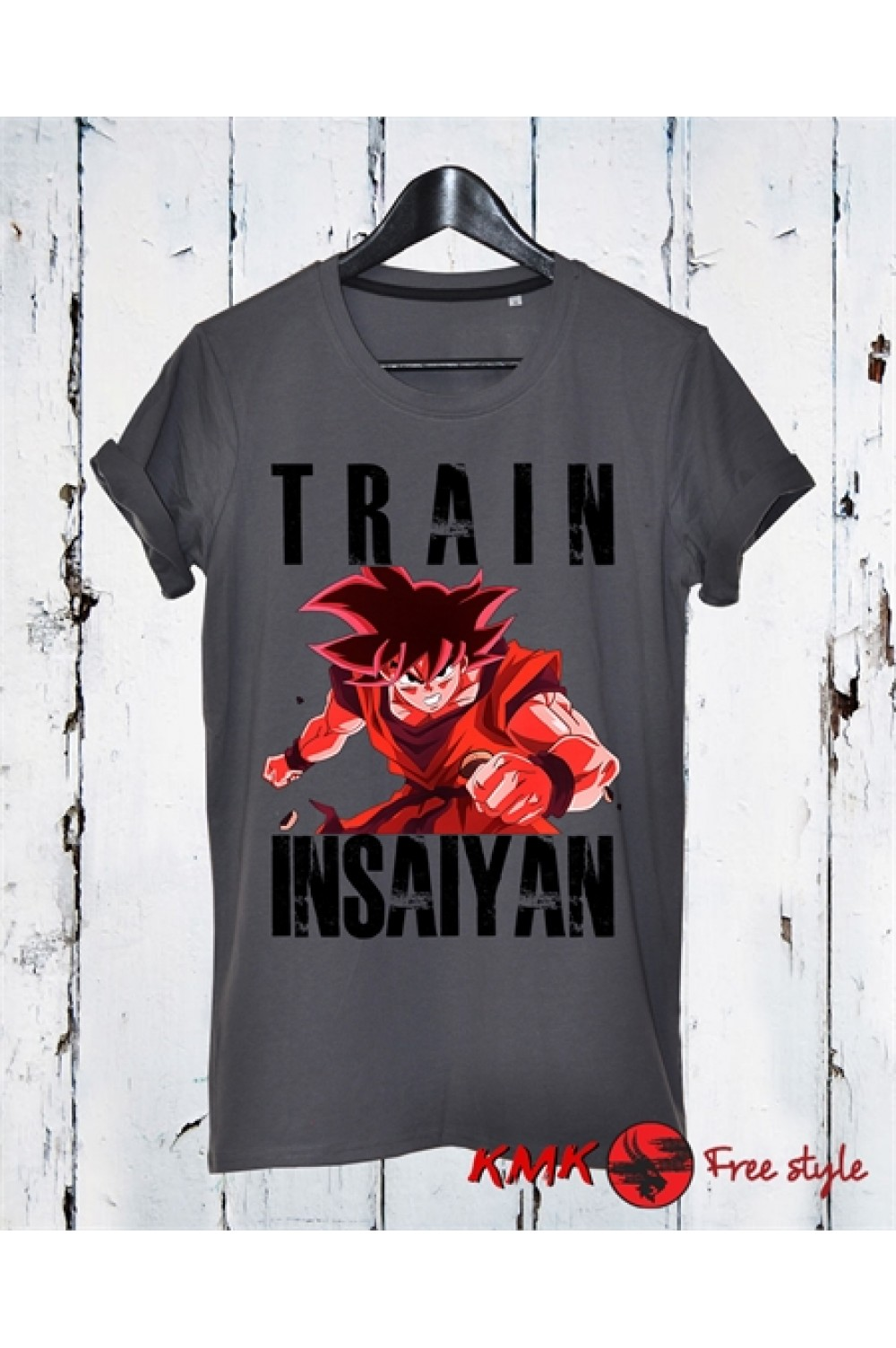 Train Insaiyan 4 Printed T shirt | Sport Tanktop | Fitness Tee | Long and Short Shirt