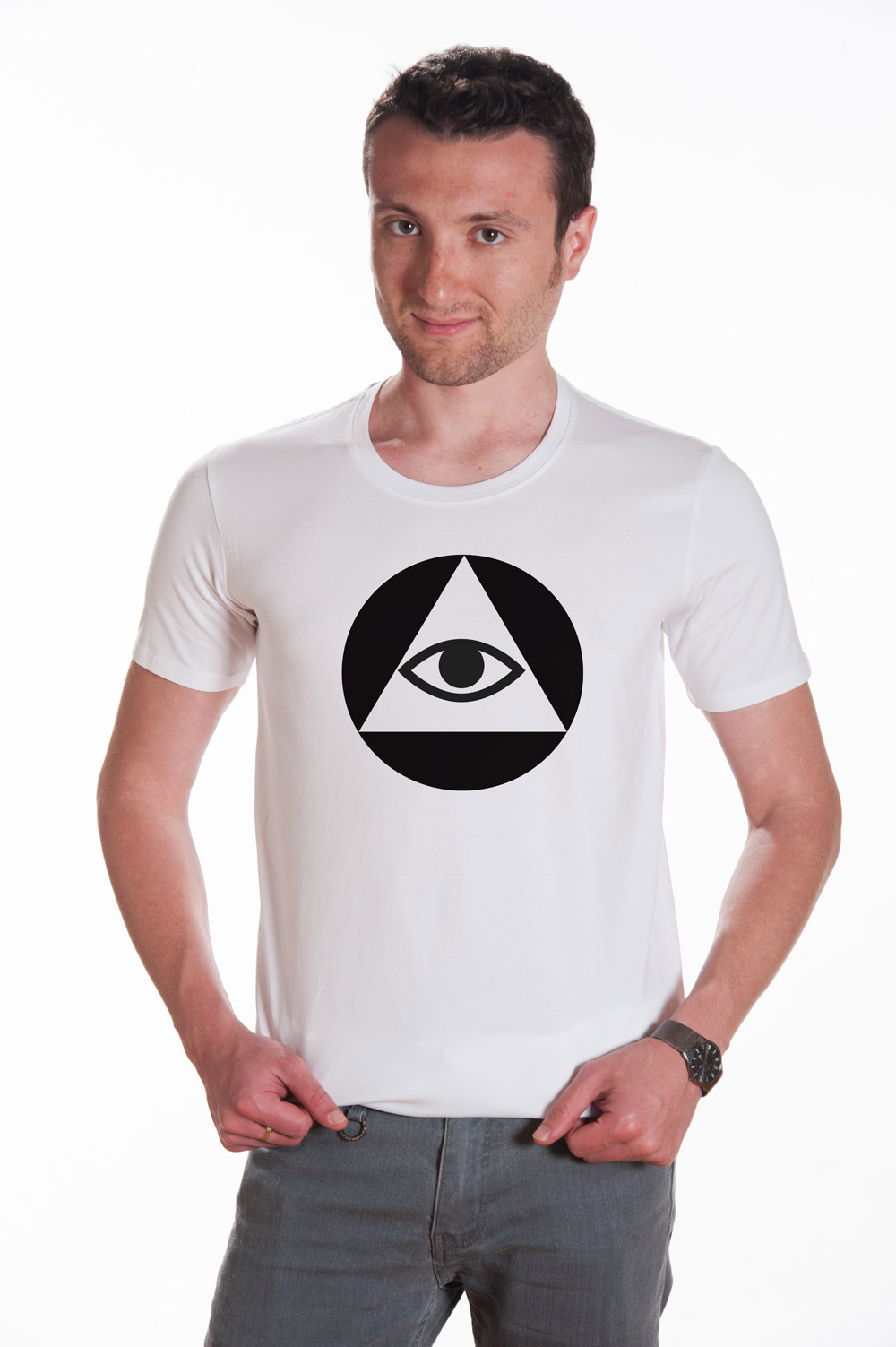 Masonic Symbol 3 T shirt | Mason Tee | Secret Society Tee