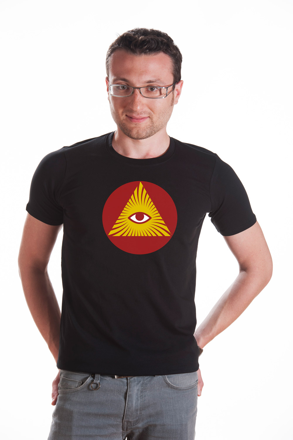 Masonic Symbol 5 T shirt | Mason Tee | Secret Society Tee