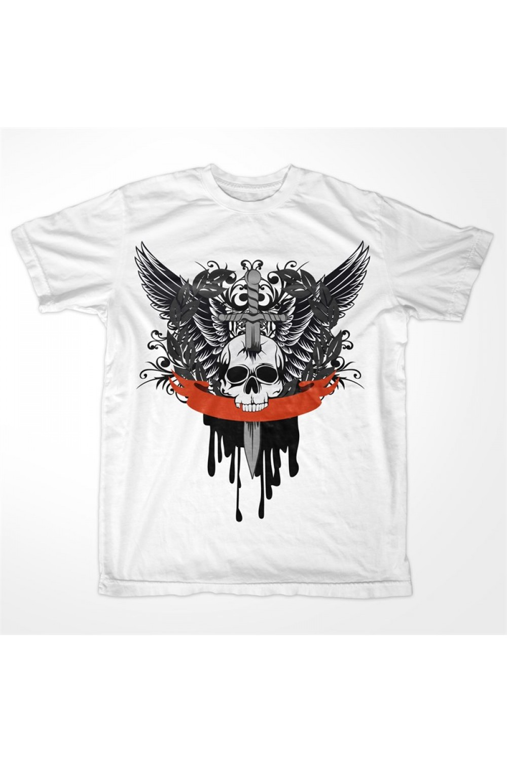 Skulls Men Printed T-shirt 0002