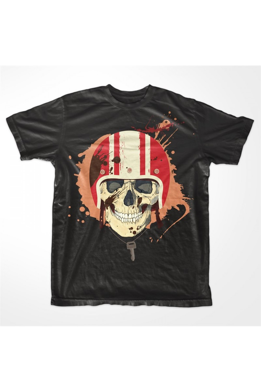 Skulls Men Printed T-shirt 4007B