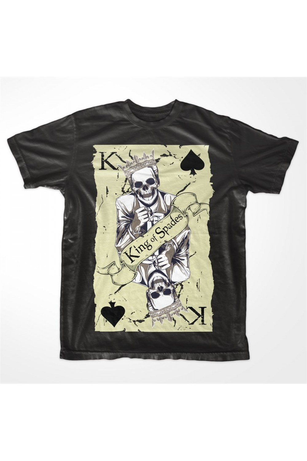 Skulls Men Printed T-shirt 4019