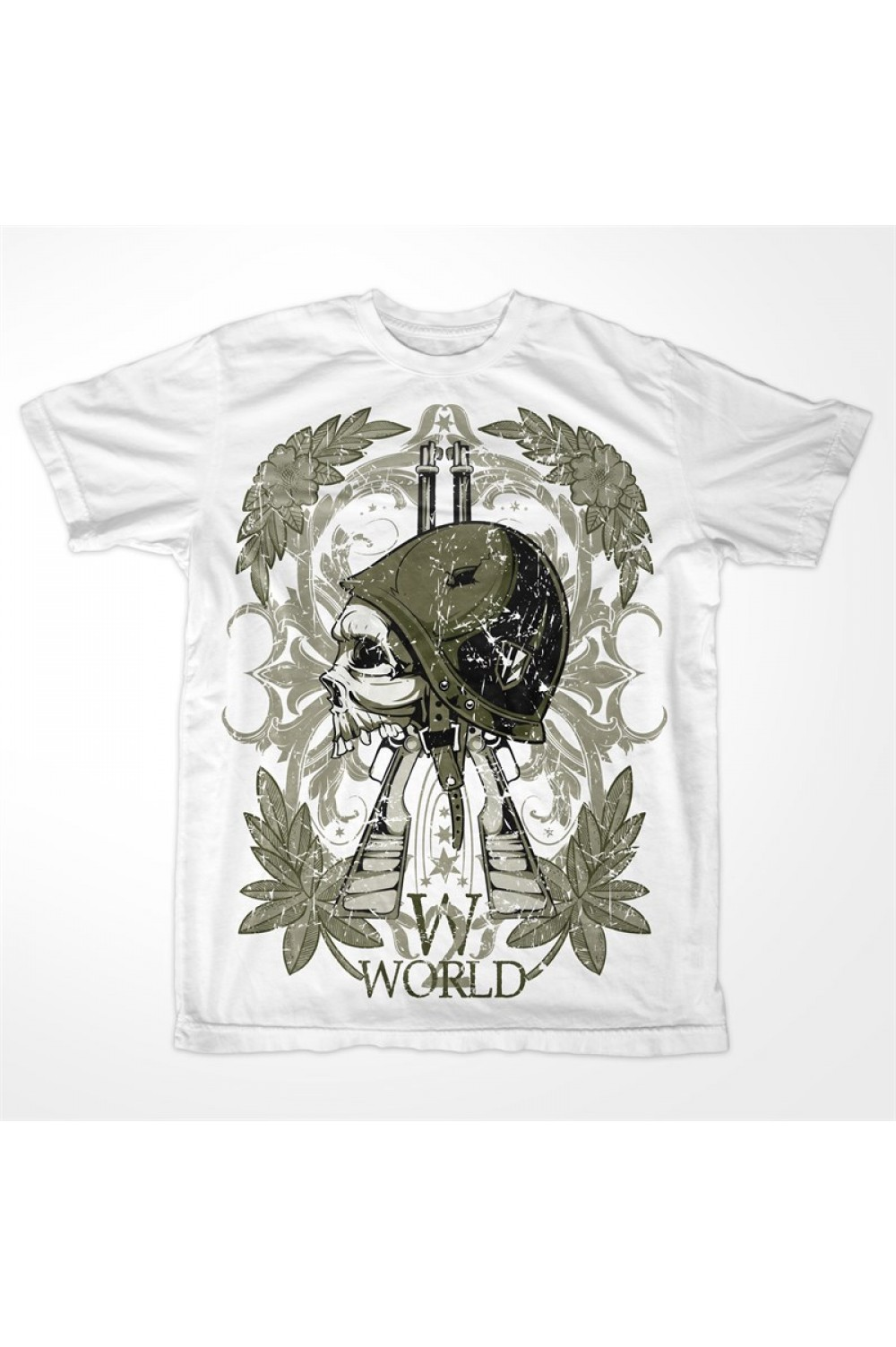 World War 2 Men Printed T-shirt 4022