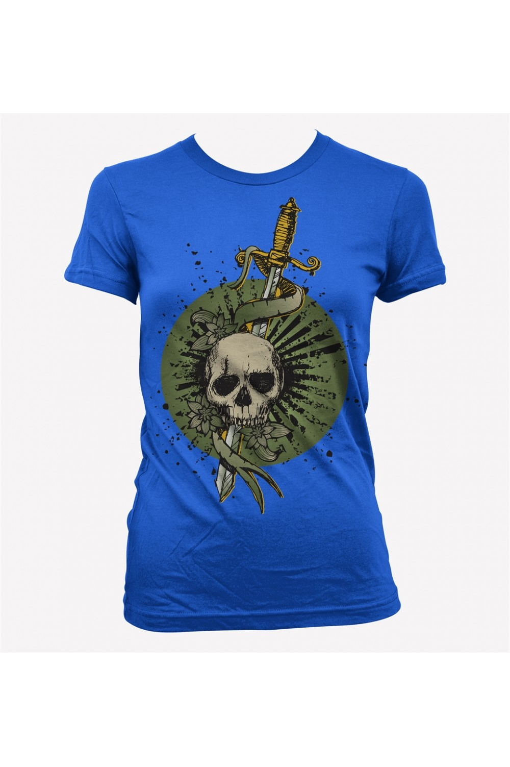 Skulls Women Printed T shirt 0020