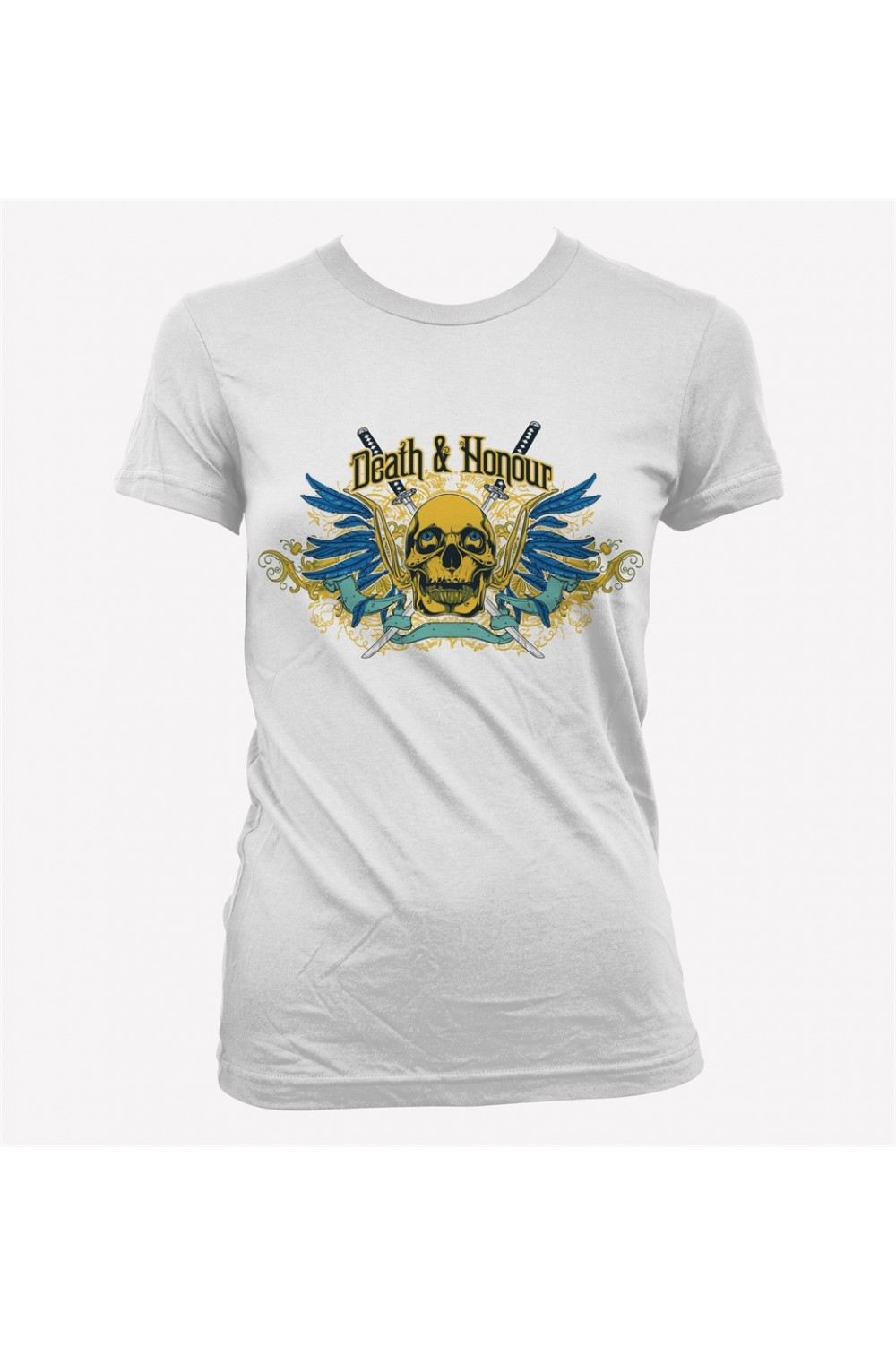 Skulls Women Printed T shirt 0046