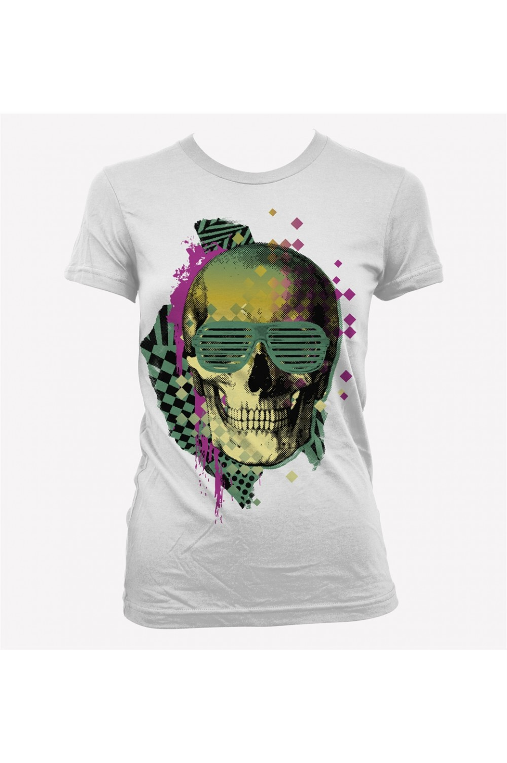 Skulls Women Printed T shirt 0135