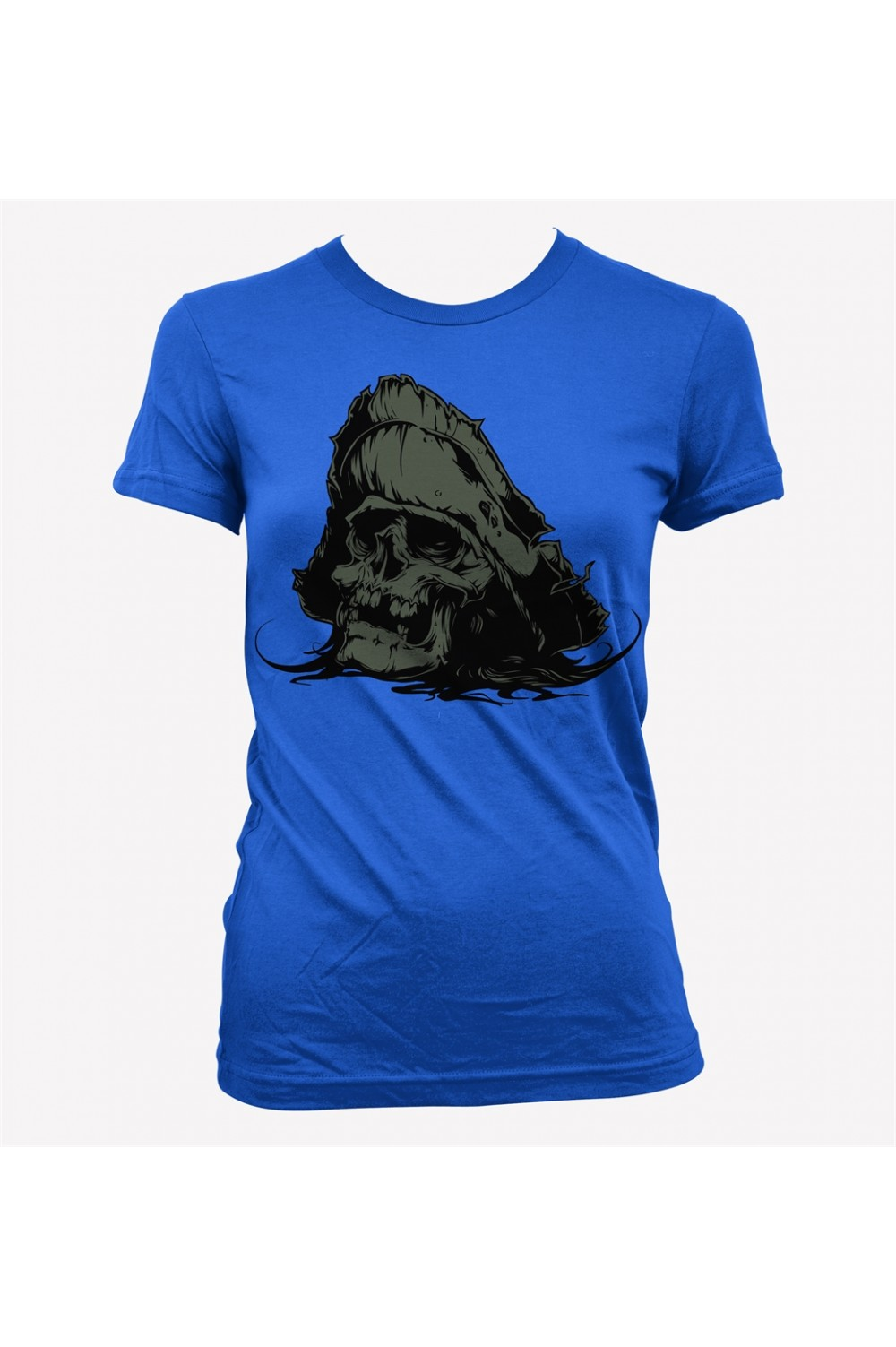 Skulls Pirate Women Printed T-shirt 4004